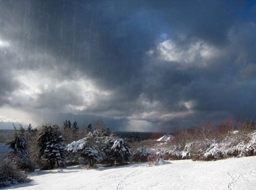 island snow