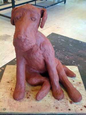 Farley in clay