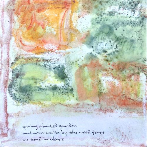 garden haiku